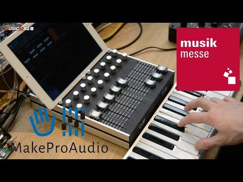 Makeproaudio - стенд DIY компании (Musikmesse 2019)