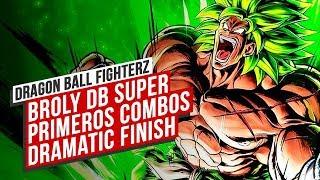 Así es BROLY (DBS) en FIGHTERZ: Dramatic Finish COMPLETO, ataques, ESPECIALES...