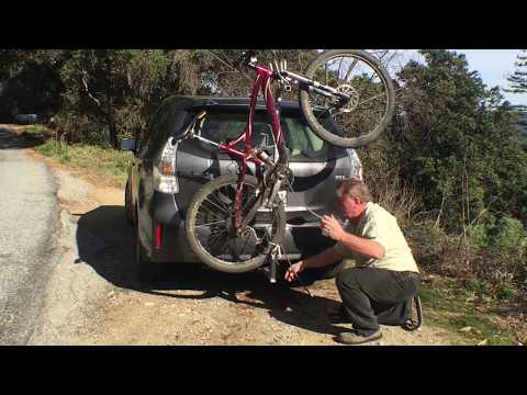 Build your own hitch bike rack