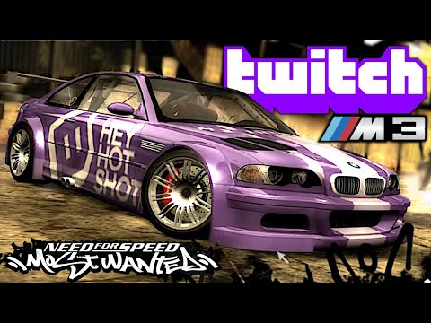 Twitch BMW M3 any% Speedrun - NFS Most Wanted (See Description for Savefile)