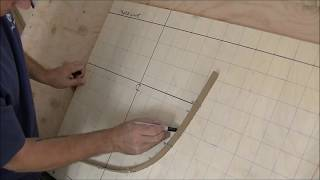 Please visit us at: http://www.trailguidepictures.com Lofting Canoe Plans. This is a short demonstration of how to loft a canoe station