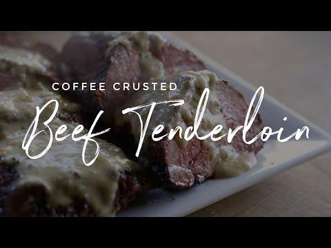 Coffee Crusted Beef Tenderloin