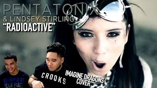 Pentatonix & Lindsey Stirling - Radioactive (Imagine Dragons Cover) REACTION!!!