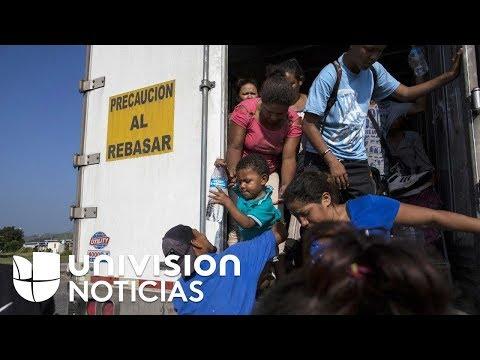 Caravana de migrantes se divide en grupos para acelerar su recorrido y llegar a Ciudad de México