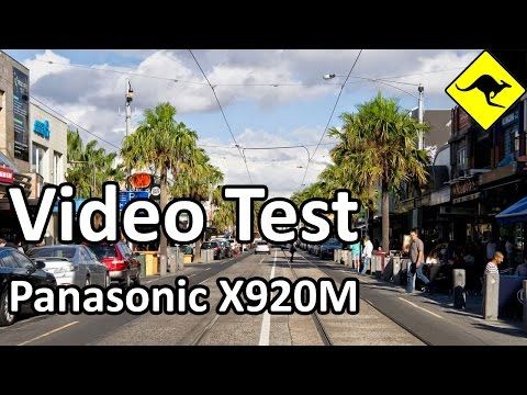 X920 Test - Acland St, St Kilda Beach in Melbourne, Australia