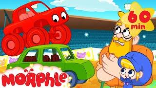 Giant Trucks - Mila And Morphle   Cartoons For Kids   My Magic Pet Morphle
