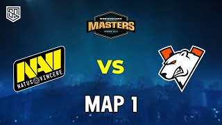[FULLMATCH] DE_DUST 2 | NAVI VS. VP | DREAMHACKMASTER SPRING 2021 | UPPER SEMI-FINALS