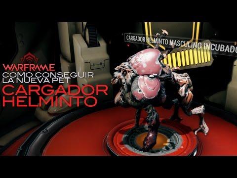 Warframe: Como obtener la nueva mascota Cargador Helminto...