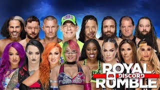 nL Live on Discord - WWE Royal Rumble 2018!