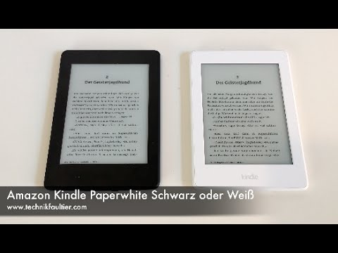 amazon kindle paperwhite schwarz oder wei youtube. Black Bedroom Furniture Sets. Home Design Ideas
