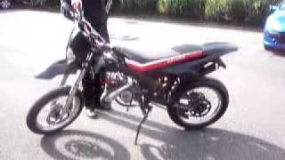 ma derbi apres renovation moteur
