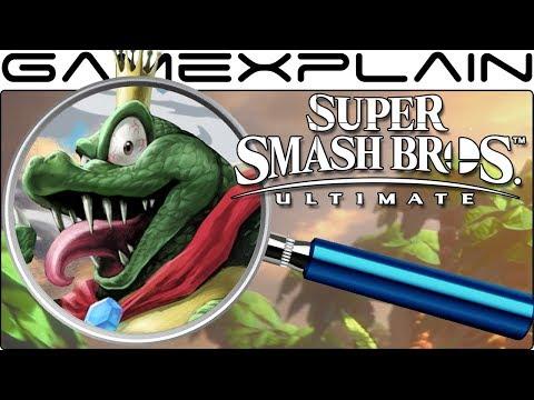 Super Smash Bros. Ultimate ANALYSIS - King K. Rool Reveal Trailer (Secrets & Easter Eggs)