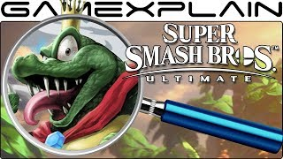 Super Smash Bros. Ultimate ANALYSIS - King K. Rool Reveal Trailer (Secrets & Easter Eggs)
