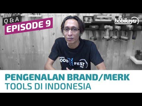 Q&A / Tanya Jawab HobiKayu Ep. 9 - Brand/Merk Power Tools di Indonesia