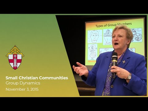Small Christian Communities: Group Dynamics