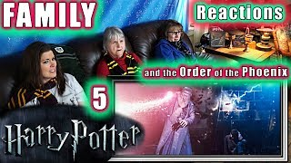 Harry Potter and the Order of the Phoenix | FAMILY Reactions | 5 | Fair Use