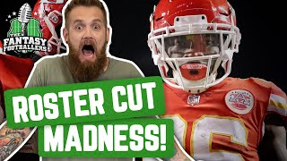 Fantasy Football 2019 - Shady & The Wild Weekend + Roster Cut Madness - Ep. #766
