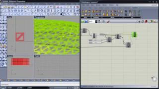 P7 - Módulo 3D Sobre Superficie - RHINOCEROS - GRASSHOPPER - EF