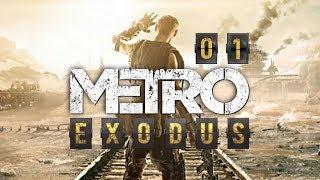 Metro Exodus (PL) #1 - Premiera (Gameplay PL / Zagrajmy w)