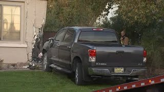 6-Year-Old 'Borrows' and Crashes Truck Into House