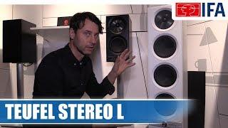 Teufel Stereo L Streaming-Lautsprecher (Deutsch) #IFA2017