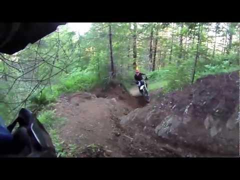 Oregon Coast Trail Dirt Bike Riding