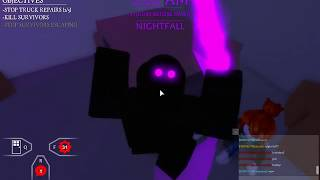 Before The Dawn: Redux Nightfall Easter Egg (Slasher Gameplay) (Roblox)