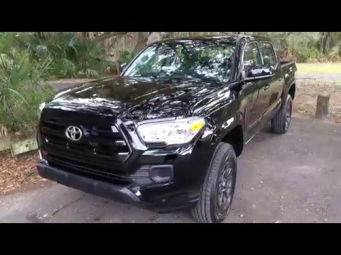 2016 Toyota Tacoma SR 4WD V6 Double Cab | Day 1 | Quick Overview | A Vegan Truck