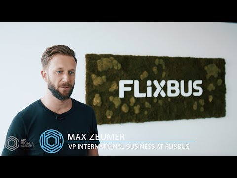 Insight in one of the best start-ups in Europe - Max Zeumer from FlixBus