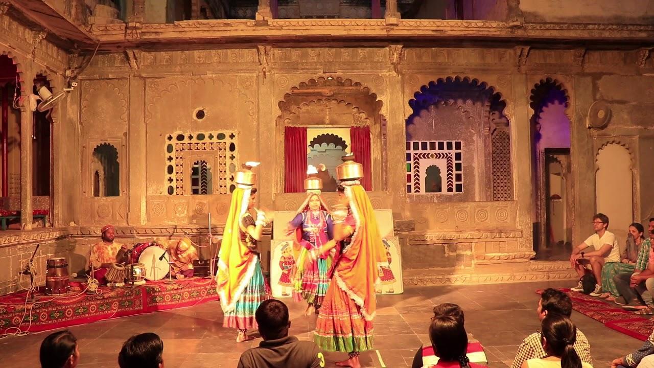 Udaipur Bagore Ki Haveli, Dharohar Dance Show - YouTube
