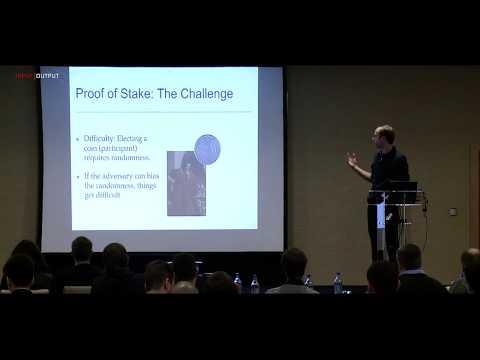 IOHK | Research; Dr. Peter Gaži, Ouroboros.