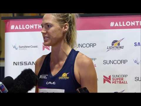 Caitlin Bassett Interview