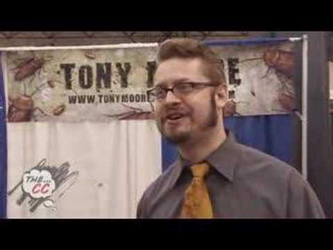 Tony Moore: The Exterminators - NYCC 2008 Interview