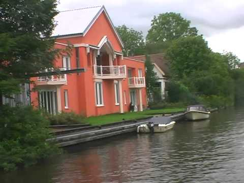 Friesland by boat Vrouwe Fortuna