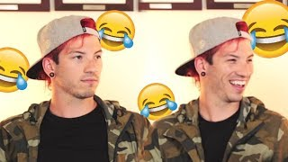 IF YOU DON'T LAUGH YOU'RE A FAKE FAN... / twenty one pilots