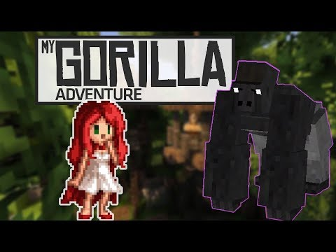 "MY GORILLA ADVENTURE - Episode 2 ""BAAAABY GOOORRILLLLAAA!"" [Minecraft Adventure Map by Toya]"