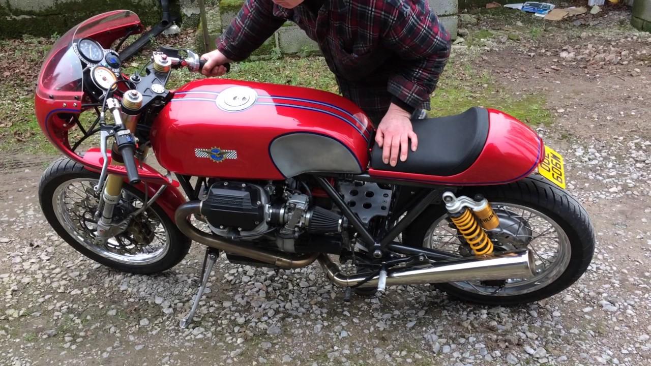 Cafe Racer Moto Guzzi V