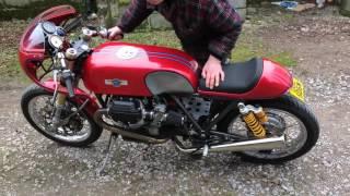 Moto Guzzi 1100 Sport cafe racer by Motonero Guzzi