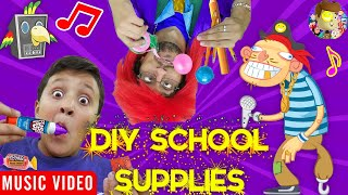 Candy (DIY School Supplies) 🎵 Raptain Hook (FV Family Vlog Song) Video