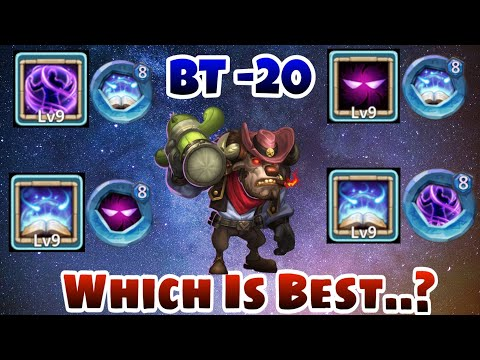 Mino | Which Talent And Insingia Best ...? | Pure Test | No Buffers | No Box Pet | Castle Clash