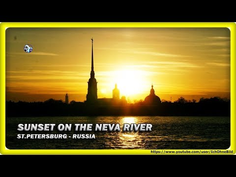 Sunset on the Neva River - Saint Petersburg | Russia - Санкт-Петербург | Россия