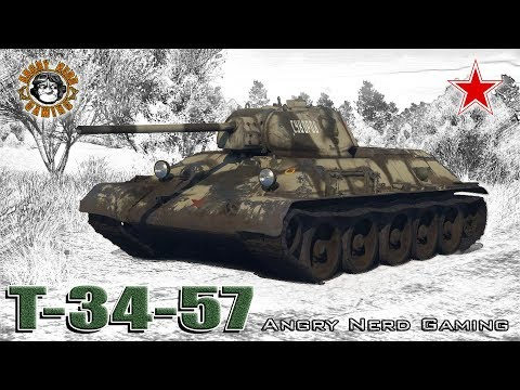 War Thunder: T-34-57, Russian, Tier-3, Medium Tank