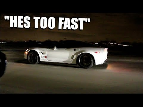 ZR1 Corvette TROLLS Street Racers! 200Mph Fly-by