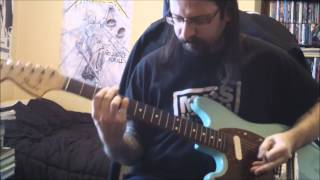 Metallica - last caress / green hell - guitar cover - Full HD