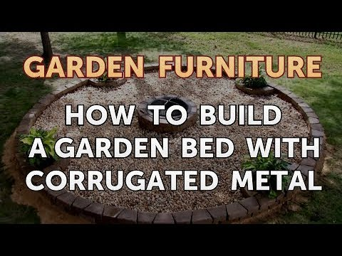 How to Build a Garden Bed With Corrugated Metal