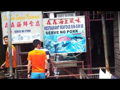 get fresh fish at Sandakan Sabah Malaysia