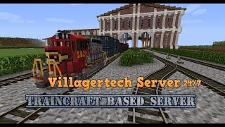 Villagertech Traincraft Server - 24/7 - Server Reopenining