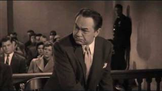 Edward G Robinson (Clip from Illegal 1955)..