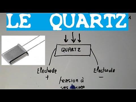 TRONIK AVENTUR N°54 - LE QUARTZ - A QUOI CA SERT