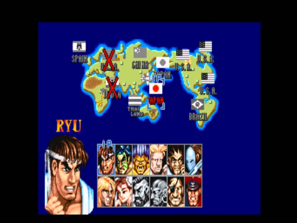 Street Fighter 2 Travel Japan Youtube